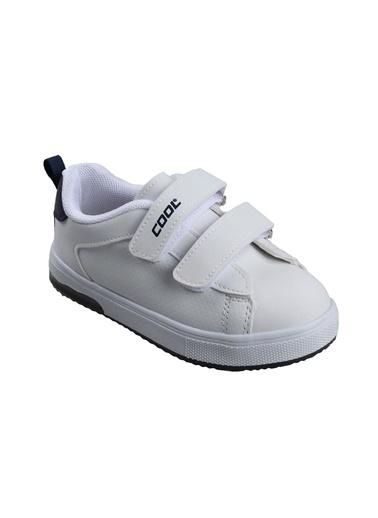 Cool 19-S29 Erkek Çocuk Beyaz Sneaker Spor Ayakkabı Beyaz